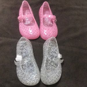 Other - Baby girl jelly Mary Jane shoes